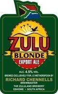 Marstons / Zululand Zulu Blonde - Golden Ale/Blond Ale