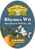 Sierra Nevada Beer Camp Rhymes Wit - Belgian White (Witbier)