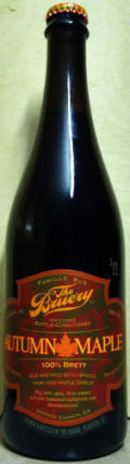 The Bruery 100% Brett Autumn Maple - Sour/Wild Ale