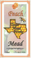 Texas Mead Works Honey Blossom Peach