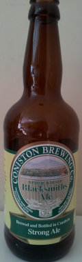 Coniston Winter Warmer Blacksmiths Ale