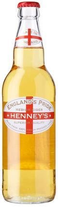 Henney�s England�s Pride Medium Cider (Bottle)