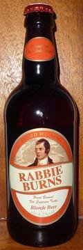 Traditional Scottish Ales Rabbie Burns Blonde Beer