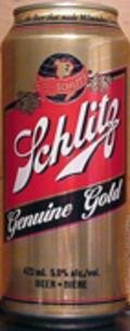 Schlitz Genuine Gold - Pale Lager