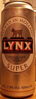 Lynx Super - Strong Pale Lager/Imperial Pils
