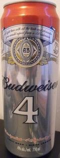 Budweiser 4 - Pale Lager