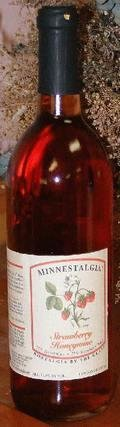 Minnestalgia Strawberry Honeywine - Mead