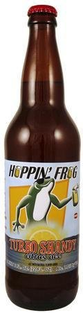 Hoppin Frog Turbo Shandy Citrus Ale