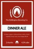 Bollington Dinner Ale