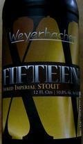 Weyerbacher Fifteen - Smoked