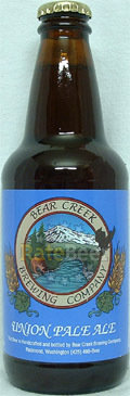 Bear Creek Union Pale Ale  - American Pale Ale