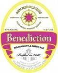 Ben Middlemiss Benediction Ale - Abbey Dubbel