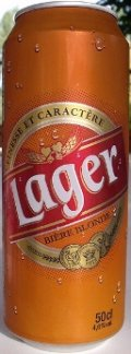 Lager Bi�re Blonde