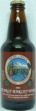 Bear Creek Bearly Barley Wine