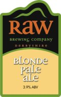 Raw Blonde Pale Ale (BPA)