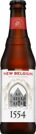 New Belgium 1554 Enlightened Black Lager - Dunkel/Tmav�