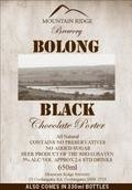 Mountain Ridge Bolong Black Chocolate Porter