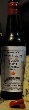 Lawson�s Finest Fayston Maple Imperial Stout - Maple Barrel Aged