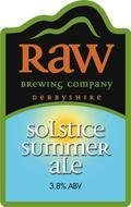 Raw Solstice Summer Ale