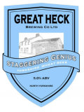 Great Heck Staggering Genius