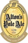 Triple fff Altons Pale Ale