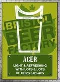 Bristol Beer Factory Acer