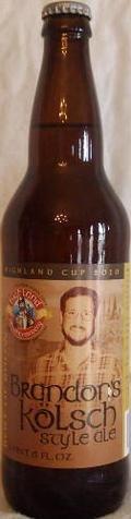 Highland Brandon�s Kolsch Style Ale - K�lsch