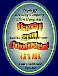 Triple fff Dazed and Confused - Golden Ale/Blond Ale