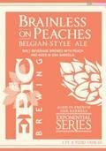 Epic Brainless on Peaches - Belgian Strong Ale
