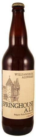 AleWerks Brewmasters Reserve Springhouse Ale (2010-) - Saison