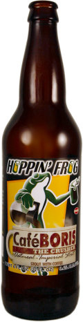 Hoppin Frog Cafe BORIS