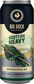 Big Rock Wee Heavy Scotch Ale (Kasper Shultz Line)