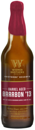 Widmer Brothers Reserve Barrel Aged Brrrbon - American Strong Ale