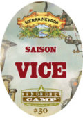 Sierra Nevada Beer Camp Saison Vice - Saison