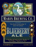 Marin Bluebeery Flavored Ale - Fruit Beer/Radler