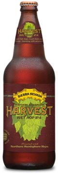 Sierra Nevada Harvest Wet Hop IPA - Northern Hemisphere - India Pale Ale (IPA)