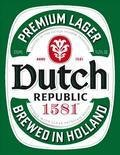 Dutch Republic 1581 Premium Lager - Pilsener
