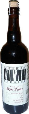 White Birch Barrel Aged Rye Four