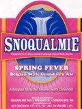 Snoqualmie Falls Spring Fever Belgian Grand Cru