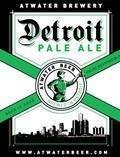 Atwater Detroit Pale Ale - American Pale Ale