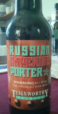 Teignworthy Russian Imperial Porter (Whisky Barrel Aged)