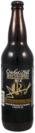 Cricket Hill Brewmaster�s Reserve American Brown Ale