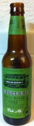 Cable Car Small Batch Pale Ale
