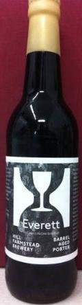 Hill Farmstead Barrel Aged Everett (2011) - Porter
