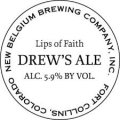 New Belgium Lips of Faith - Drew�s Ale - Schwarzbier