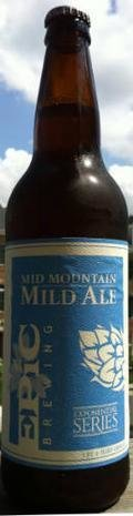 Epic Mid Mountain Mild Ale - Mild Ale