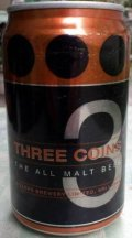 Three Coins Lager - Pale Lager