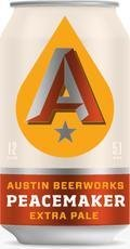 Austin Beerworks Peacemaker Extra Pale