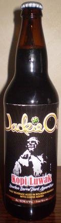 Jackie O�s Bourbon Barrel Kopi Luwak Dark Apparition