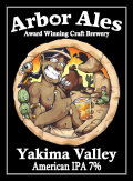 Arbor Yakima Valley American IPA - India Pale Ale (IPA)